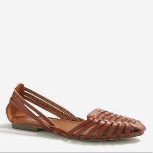 J. Crew Huarache Woven Slip On Sandals